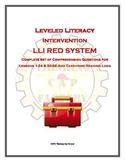 LLI RED System Bundle of Comprehension Questions (Vol. 1)