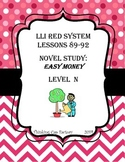 LLI RED System Novel Study Questions for Lessons 89-92 (Level N)