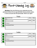 LLI / Reading Home-Learning Log