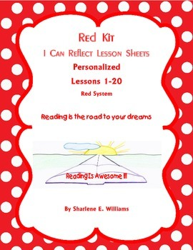 """Red Kit """"I Can Reflect"""" Lessons 1-20"""