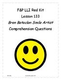 LLI Red Kit Lesson 133 Comprehension questions Bren Bataclan Smile Artist
