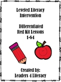 LLI Red Kit: Lessons 1-64 Differentiated Version