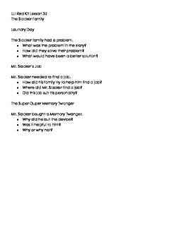 LLI Red Kit Lessons 35-44