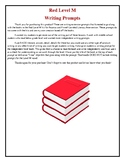 LLI-Red Level M Writing Prompts