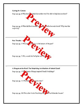 LLI Red Level N Bundle Writing Prompts and Check for Understanding