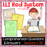 LLI Red Kit Comprehension Lessons 1 - 24