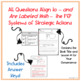 LLI Red System - Comprehension Questions + Answers - Lessons 33 - 56 {NO PREP!}