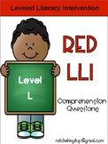 LLI Red System Level L Comprehension