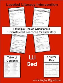 LLI Red System Level Q Comprehension