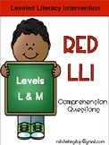 LLI Red System Levels L and M Comprehension Bundle