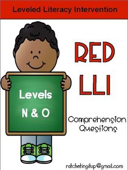 LLI Red System Levels N and O Comprehension Bundle