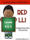 LLI Red System Levels N and O Comprehension Bundle