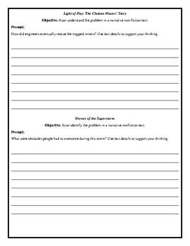 LLI-Teal Level U Writing Prompts