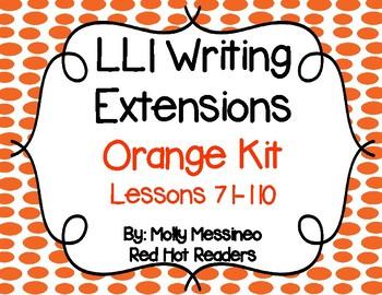 LLI Writing Extensions Orange Kit Bonus Pack Books