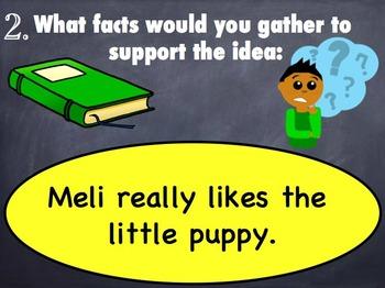 LLI blue kit Level E lessons KEY NOTE SLIDES for iPad Leveled Literacy
