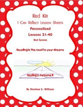 """Red Kit """"I Can Reflect"""" Lessons 21-40"""