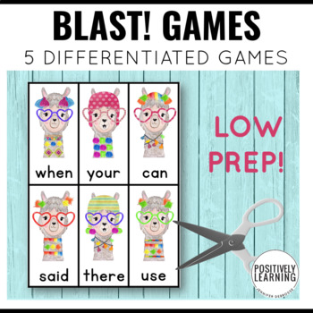 LLama Games Phonics
