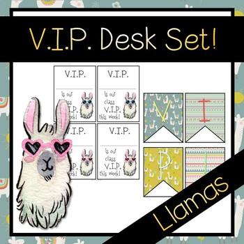 LLama VIP Desk Set