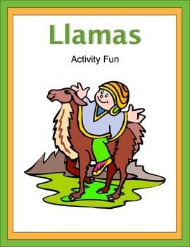 LLamas Activity Fun