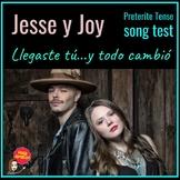 LLegaste Tú - Jesse y Joy:  Song Test