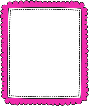 LM-Page frames-Clip art #1 Commercial Use