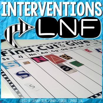 LNF Interventions { Letter Naming Fluency }