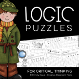 LOGIC PUZZLES: For Critical Thinking [Digital & Printable]