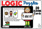 LOGIC Puzzles ~ BOOM Cards ~ Distance Learning