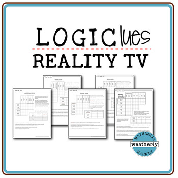 LOGIC PUZZLES - Reality TV