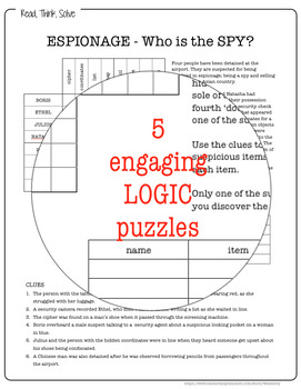 LOGIC puzzle - WHODUNNIT