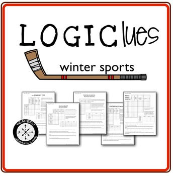 LOGIC PUZZLES winter sports