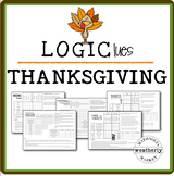 LOGIC puzzles - THANKSGIVING