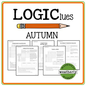 LOGIC puzzles - FALL
