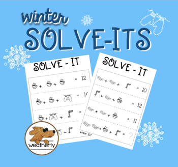 LOGICAL REASONING - Winter Solve-Its
