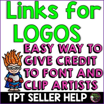 LOGOS with Links for TPT Sellers-FREE!!