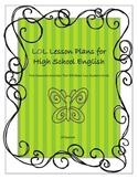LOL Lesson Plans for High School English