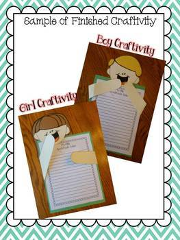 April Fool's Day Writing and craft