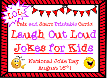 LOL Pair and Share Jokes for Kids