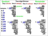 5th Grade Long Division: Two-Digit Divisor Guided Practice (animated)