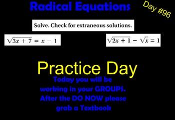 LONG HAUL: Algebra 2  Rational Expressions Practice Smartboard #45