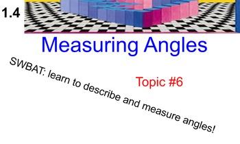 LONG HAUL: Geometry Angles Smartboard