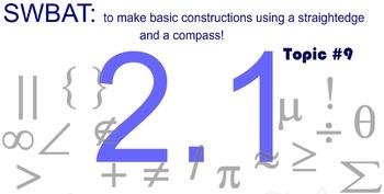 LONG HAUL: Geometry Constructions Smartboard