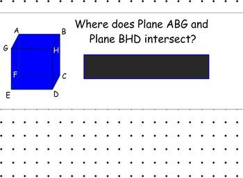 LONG HAUL: Geometry Postulates Smartboard
