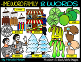 CVCE LONG VOWEL I CLIPART(-IME WORDS)