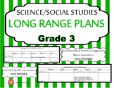 LONG RANGE PLANS – Science/Social Studies – Grade 3