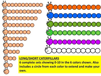 LONG-SHORT, TALL-SHORT CLIP ART GRAPHICS- 207 IMAGES