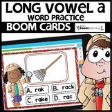 LONG VOWEL A | BOOM CARDS | Digital Task Cards