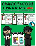 LONG VOWEL -ANG  CRACK THE CODE POWERPOINT, TASK CARDS and
