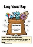 LONG VOWEL BAG- activities to help children understand lon