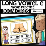 LONG VOWEL E | BOOM CARDS DISTANCE LEARNING